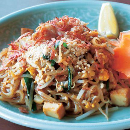 Dish, Food, Cuisine, Pad thai, Ingredient, Karedok, Produce, Meat, Thai food, Recipe,