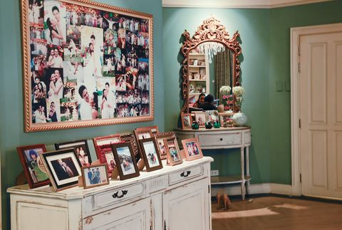 Room, Furniture, Property, Wall, Interior design, Turquoise, Home, Teal, House, Collection,
