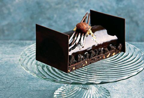 Chocolate, Chocolate cake, Sachertorte, Dessert, Food, Cuisine, Cake, Chocolate brownie, Baked goods, Semifreddo,