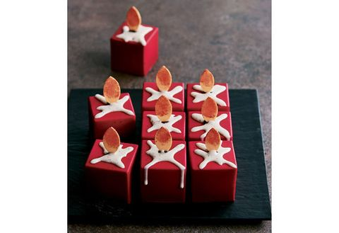 Red, Lighting, Present, Gift wrapping, Petal, Carmine, Candle, Party favor, Wedding favors, Petit four,