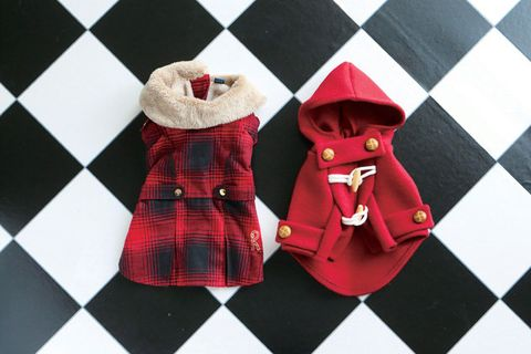 Plaid, Red, Tartan, Pattern, Outerwear, Design, Textile, Footwear, Fashion accessory, Sleeve,