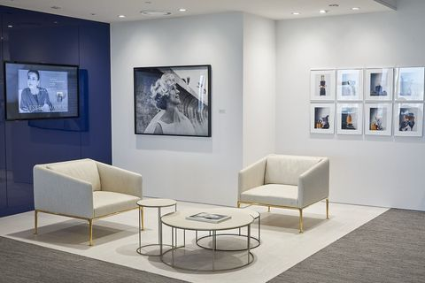 Interior design, Room, Furniture, Building, Art gallery, Living room, Art exhibition, Art, Exhibition, Design,