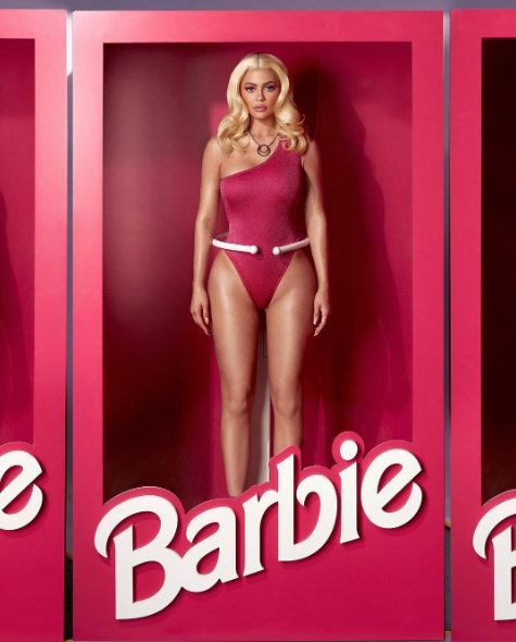 Lingerie, Clothing, Undergarment, Pink, Bikini, Blond, Magenta, Muscle, Brassiere, Swimwear,