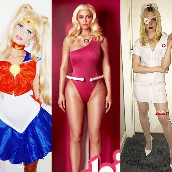 Clothing, Blond, Costume, Leg, Lingerie, Electric blue, Bikini, Fictional character, Thigh,