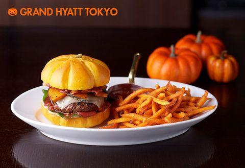 Produce, Orange, Vegetable, Food, Calabaza, Fried food, Tableware, Dish, Pumpkin, French fries,