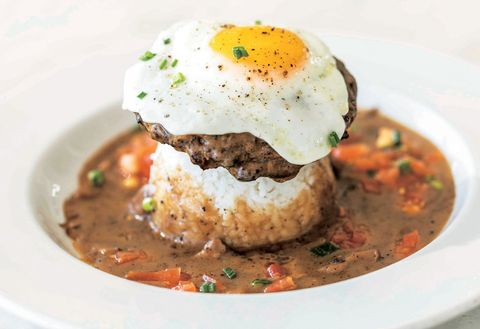 Dish, Food, Cuisine, Ingredient, Comfort food, Produce, Recipe, Gravy, Brunch, Poached egg,