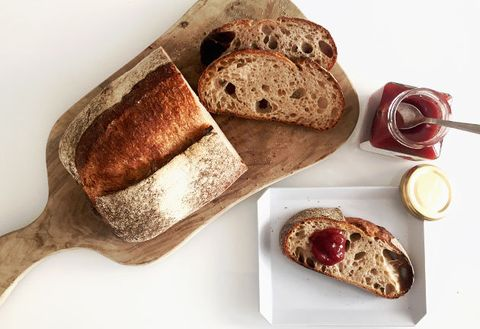 Food, Cuisine, Dish, Bread, Soda bread, Sourdough, Ingredient, Gluten, Loaf, Ciabatta,