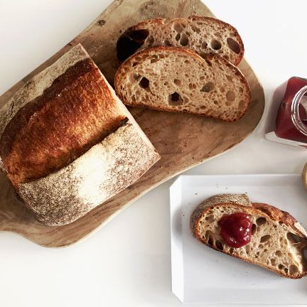 Food, Dish, Cuisine, Bread, Soda bread, Sourdough, Ingredient, Gluten, Ciabatta, Loaf,