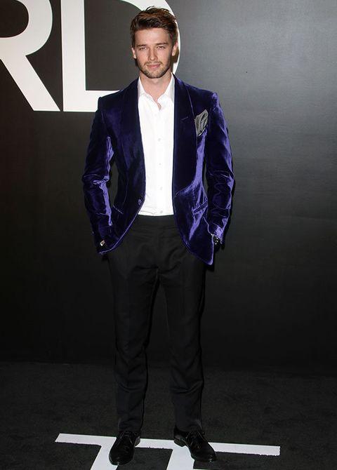 Suit, Clothing, Formal wear, Fashion, Outerwear, Blazer, Standing, Footwear, Human, Tuxedo,