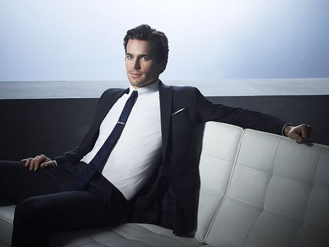 Suit, White, Formal wear, Tuxedo, White-collar worker, Fashion, Businessperson, Sitting, Photography, Model,