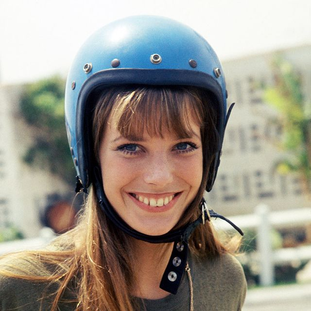 Helmet, Motorcycle helmet, Clothing, Equestrian helmet, Personal protective equipment, Head, Beauty, Smile, Headgear, Sports equipment,