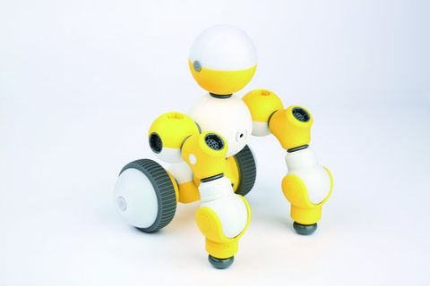 Yellow, Product, Toy, Font, Action figure, Plastic, Baby toys, Wheel,