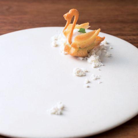 Food, Dish, Cuisine, Ingredient, À la carte food, Garnish, Side dish, Cream, Dessert, Produce,