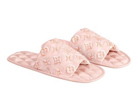 Footwear, Slipper, Pink, Shoe, Product, Beige, Flip-flops, Sandal, Peach,