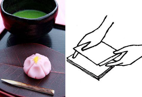 Mochi, Cuisine, Food, Comfort food, Dish, Japanese cuisine, Tableware,