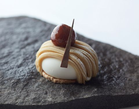 Food, Mont blanc, Cuisine, Dish, Baked goods, Dessert, Pastry, Ingredient, Sweetness, Finger food,