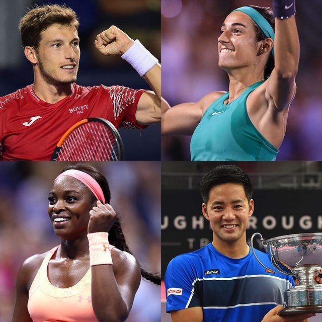Tennis, Athlete, Tennis player, Sports, Racket, Racquet sport, Muscle, Championship, Individual sports, Neck,
