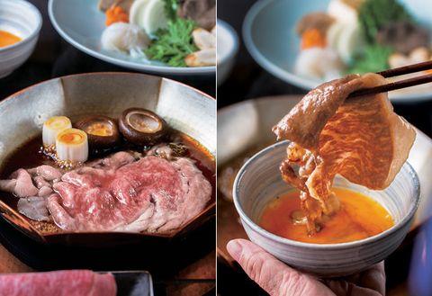 Dish, Food, Cuisine, Ingredient, Meat, Meal, Comfort food, Produce, Soup, Shabu-shabu,