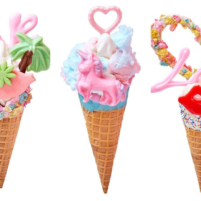 Ice cream cone, Soft Serve Ice Creams, Frozen dessert, Ice cream, Dessert, Cone, Food, Gelato, Dairy, Sorbetes,
