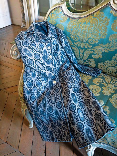 Blue, Turquoise, Aqua, Bag, Azure, Textile, Pattern, Hand luggage, Fashion accessory, Pattern,