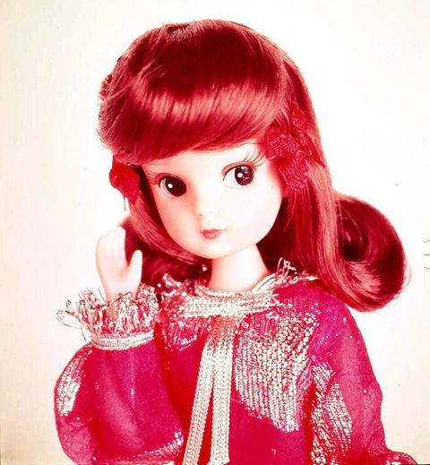 Doll, Hair, Pink, Wig, Red, Toy, Clothing, Lip, Hairstyle, Bangs,