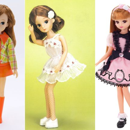 Doll, Clothing, Toy, Pink, Fashion design, Fashion, Dress, Costume, Brown hair, Child,