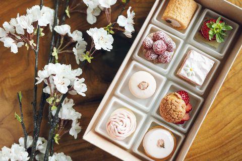 Food, Cuisine, Dish, Flower, Sweetness, Dessert, Plant, Recipe, Confectionery, Ingredient,