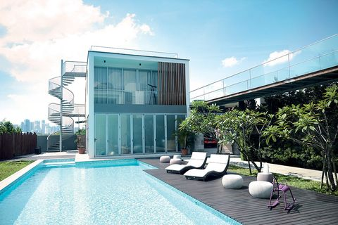Building, Property, Architecture, Swimming pool, House, Real estate, Home, Leisure, Leisure centre, Interior design,