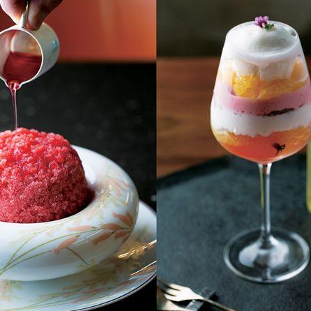 Food, Dessert, Cuisine, Frozen dessert, Ingredient, Dish, Sorbet, Drink, Sweetness, Verrine,
