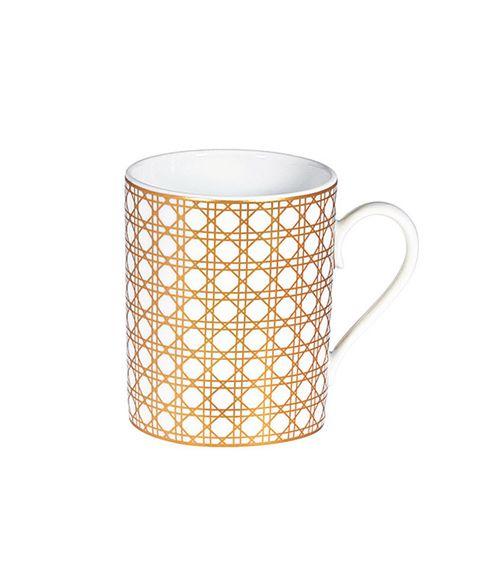 Mug, Drinkware, Tableware, Serveware, Cup, Porcelain, Beige,