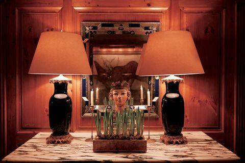Lampshade, Lamp, Light fixture, Lighting, Lighting accessory, Light, Room, Interior design, Nightlight, Table,