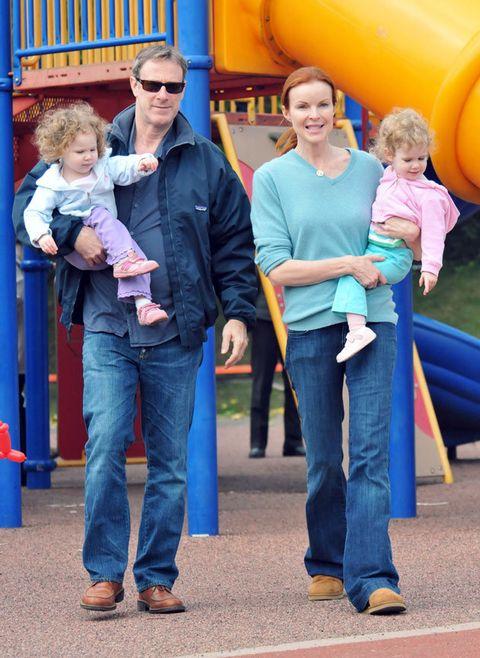 People, Public space, Jeans, Fun, Playground, Denim, Recreation, Child, Leisure, Outdoor play equipment,
