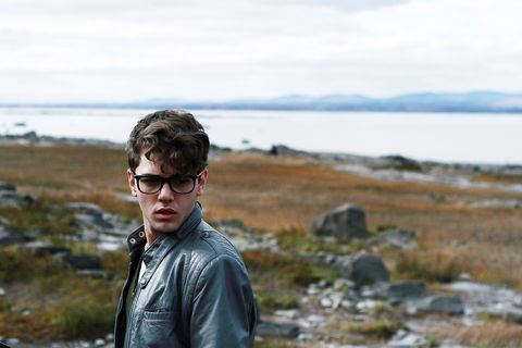 Eyewear, Sunglasses, Coast, Glasses, Jacket, Sky, Sea, Vision care, Outerwear, Photography,