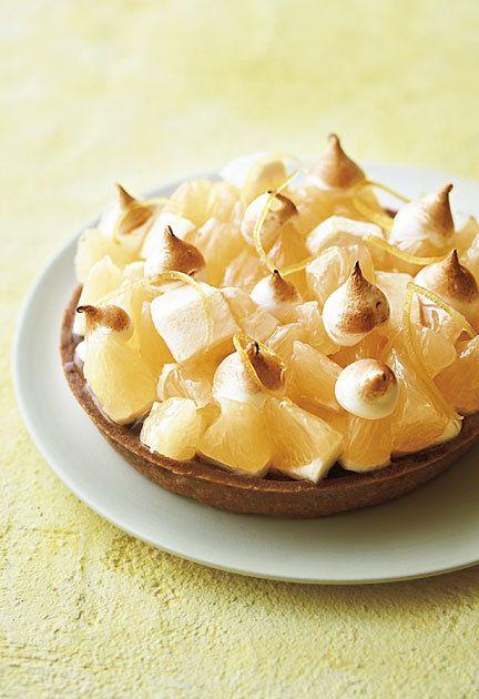 Dish, Food, Cuisine, Meringue, Dessert, Ingredient, Baked goods, Cream pie, Baked alaska, Banana cream pie,
