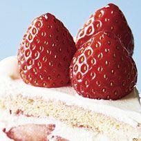 Food, Strawberry, Strawberries, Dessert, Torte, Semifreddo, Cuisine, Dish, Cake, Frozen dessert,