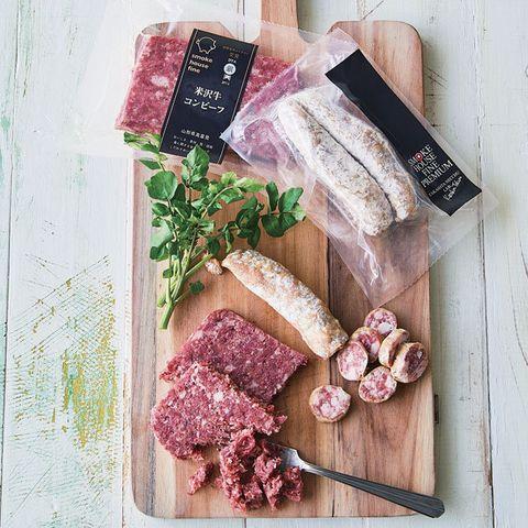 Food, Dish, Cuisine, Charcuterie, Salt-cured meat, Meat, Fuet, Venison, Veal, Ingredient,