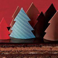 Tree, Christmas tree, Christmas decoration, Cone, Architecture, Art paper, Illustration, Interior design, Triangle, Christmas eve,