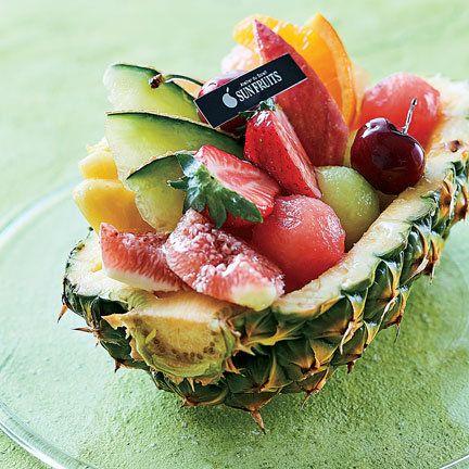 Food, Fruit salad, Fruit, Dish, Cuisine, Sweetness, Natural foods, Ingredient, Produce, Garnish,