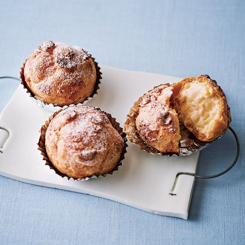 Dish, Food, Cuisine, Dessert, Muffin, Baked goods, Ingredient, Baking, Profiterole, Choux pastry,