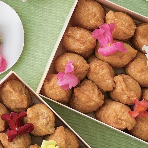 Food, Cuisine, Dish, Ingredient, Dessert, Fried food, Produce, Comfort food, Sata andagi, Vegetarian food,
