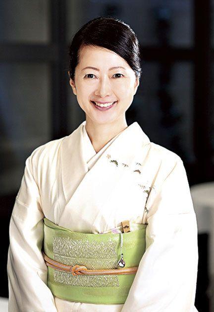 Costume, Smile, Kimono,