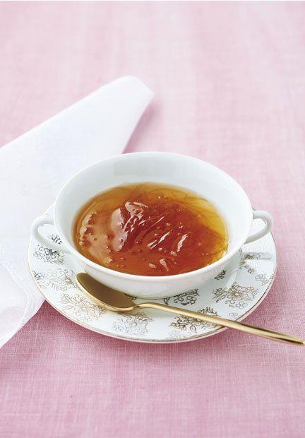 Food, Dish, Ingredient, Cuisine, Soup, Earl grey tea, Tea, Serveware, Produce, Espagnole sauce,