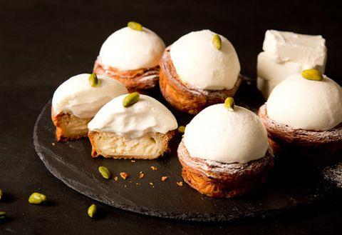 Dish, Food, Cuisine, Meringue, Dessert, Ingredient, Baked goods, Produce, Finger food, Chiboust cream,