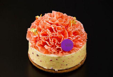 Food, Sweetness, Icing, Cake, Dessert, Pink, Orange, Buttercream, Cuisine, Dish,