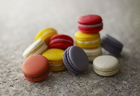 Macaroon, Sweetness, Colorfulness, Food, Finger food, Confectionery, Cuisine, Collection, Dessert, Ingredient,