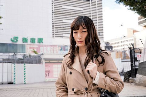 Hair, Photograph, Street fashion, Snapshot, Beauty, Hairstyle, Fashion, Trench coat, Outerwear, Black hair,