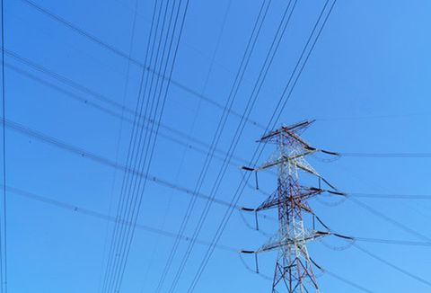 Blue, Cable, Electricity, Overhead power line, Line, Wire, Electric blue, Electrical network, Electrical supply, Azure,