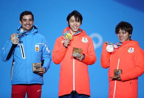 Medal, Award, Silver medal, Bronze medal, Gold medal, Outerwear, Team,