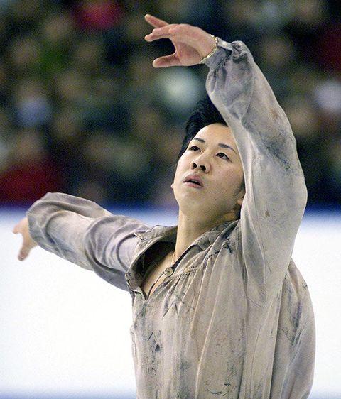 Artistic gymnastics, Arm, Ice skating, Hand, Recreation, Figure skating, Championship, Gesture, Performance, Dancer,