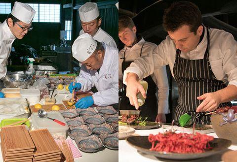 Cook, Food, Chef, Cuisine, Cooking, Dish, Meal, Culinary art, À la carte food, Taste,